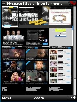MySpace Full Version in Opera Mini