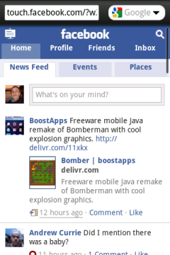 Opera Mini 5.1 Old - Facebook