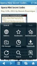 UC 7.7 Symbian - Main Menu