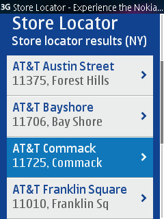Get your N9 at the nearest AT&T store.