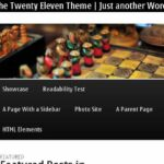 Nokia E6- WordPress Menu