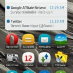 Nokia Belle - Email and Missed Call Notification in Statusbar