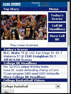 CBS Sports College Basketball