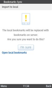 UC Browser 8.2 Java Local Bookmarks Will Be Replaced