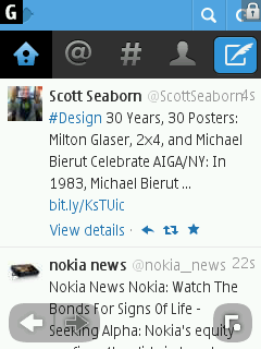 Twitter - Nokia S40 Browser