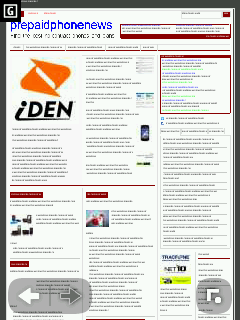 Nokia S40 Browser - Zoomed Out Page Overview Mode