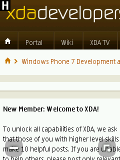 XDA-Developers - Nokia S40 Browser