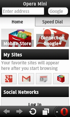 Opera Mini 7.1 Without Virtual Keyboard