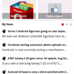 Opera Mini 7.5 Android Smart Page My News