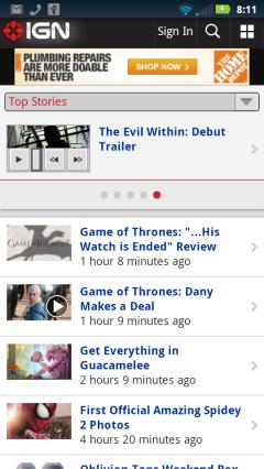 IGN - Homepage imgBorder