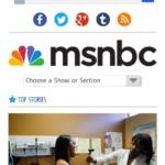 MSNBC Homepage