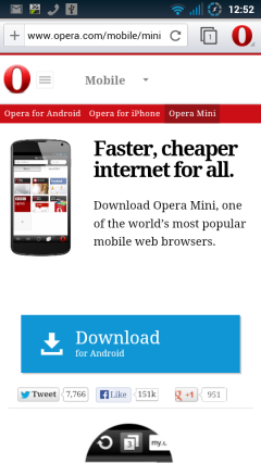 Opera Browser 16 Beta - Opera.com Serif Fonts Everywhere!