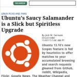 LinuxInsider Item Page
