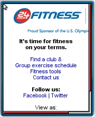 24 Hour Fitness Mobile