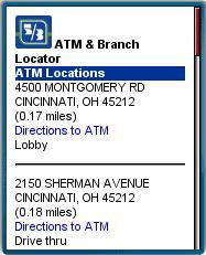 53.mobi ATM & Branch Locator