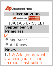  AP Elections 2006 Image 