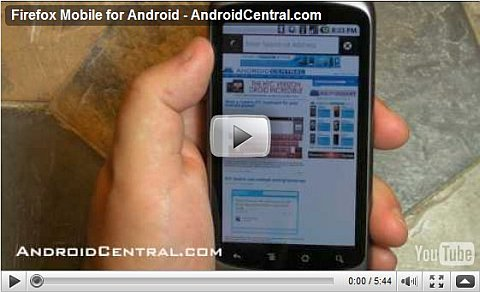 Firefox Android Video