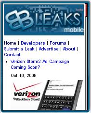 BBLeaks Mobile Edition
