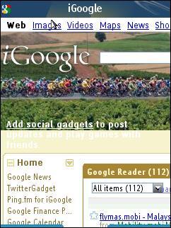 Bolt - iGoogle