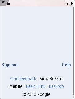 Buzz Blak Page On N95