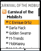 Carnival RSS Reader Screenshot