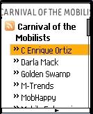 Carnival RSS Reader Screenshot