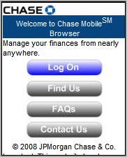 JPMorgan Chase Online Banking