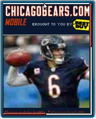 Chicago Bears Mobile Website