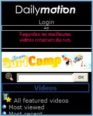 Dailymotion Mobile Site