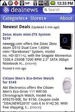 DealNews Mobile