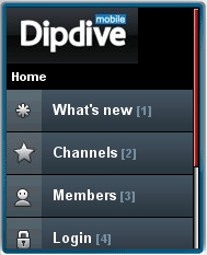 Dipdive Mobile