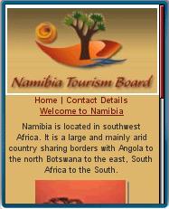 Discover Namiibia Mobile