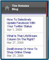 Dotsisx Blog Mobile
