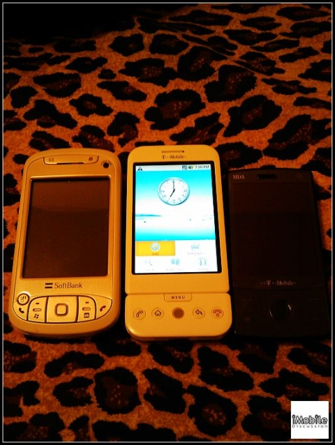 HTC X01HT and HTC Dream