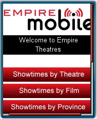Empire       Theatres Mobile