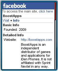 BoostApps Facebook Page