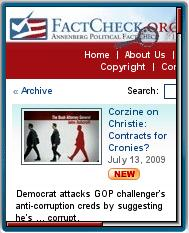FactCheck.org Mobile