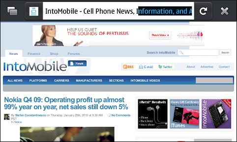 Firefox Mobile IntoMobile.com