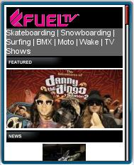 Fuel TV Mobile Site