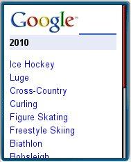 Google 2010     Olympics Mobile