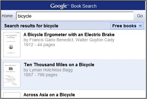 Google Mobile Book Search