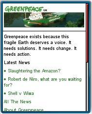Greenpeace Mobile
