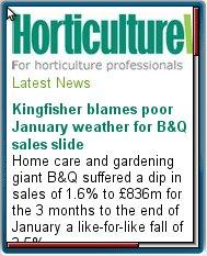 Horticulture     Week Mobile