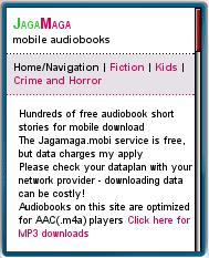 JagaMaga Mobile Audiobooks