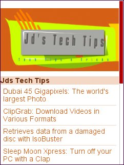 Jd's Tech  Tips