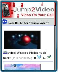 Jump2Video Mobile Videos
