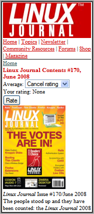 Linux Journal Back Issue
