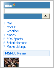 MSN Mobile Beta