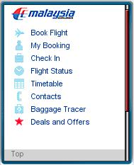Malaysia Airlines Mobile