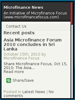 Microfinance News Mobile